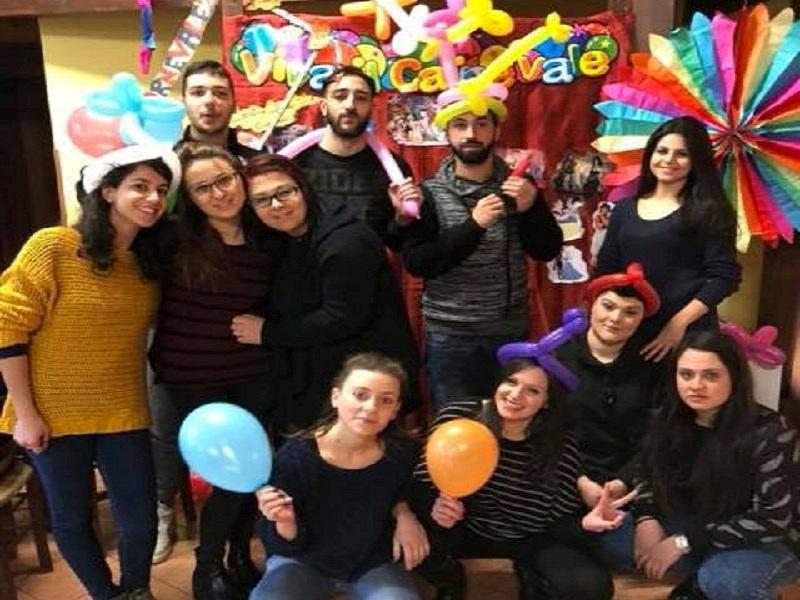 servizio civile. Carnevale 2018
