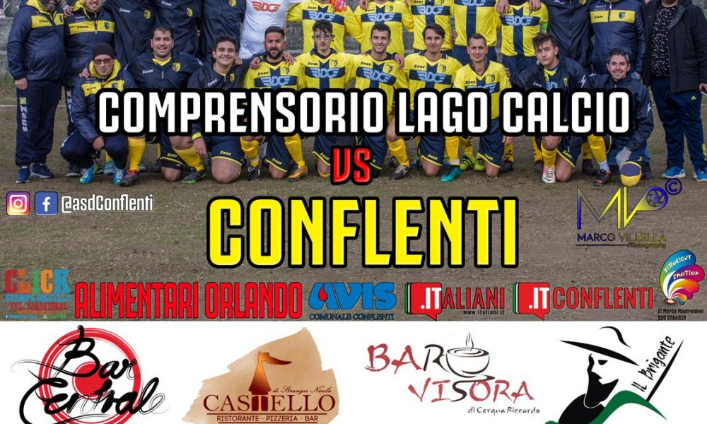 Comprensorio Lago Calcio Vs Conflenti