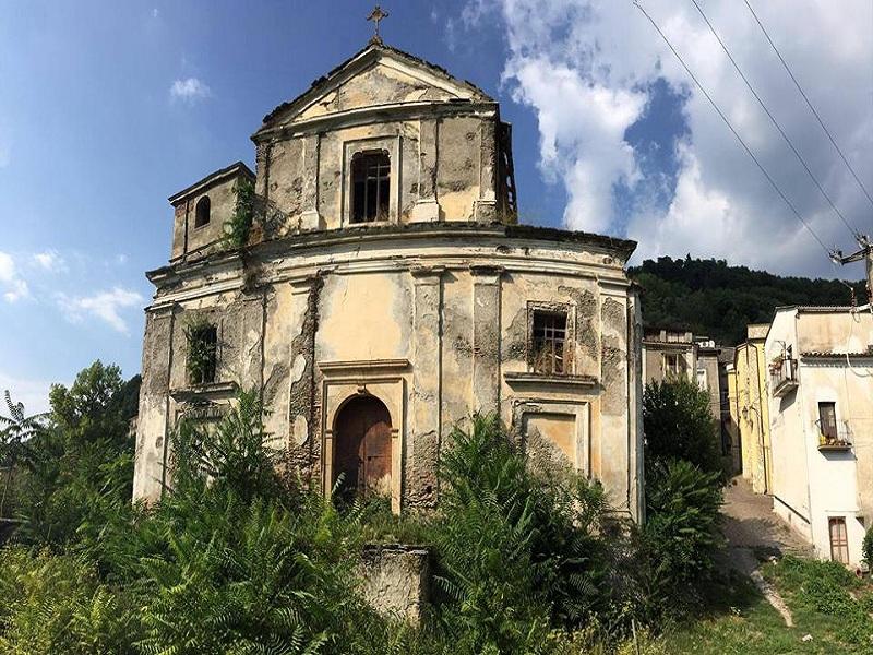 Nucleo abitativo. Chiesa S. Nicola