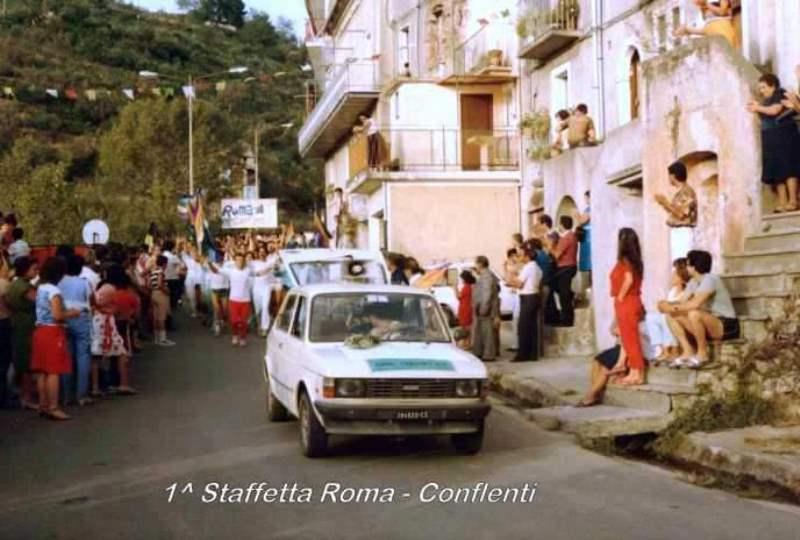 'A Staffetta. L'arrivo