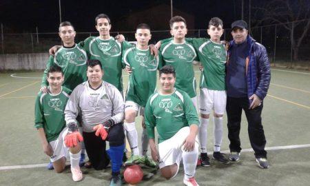 Calcio 5 Junior. la squadra