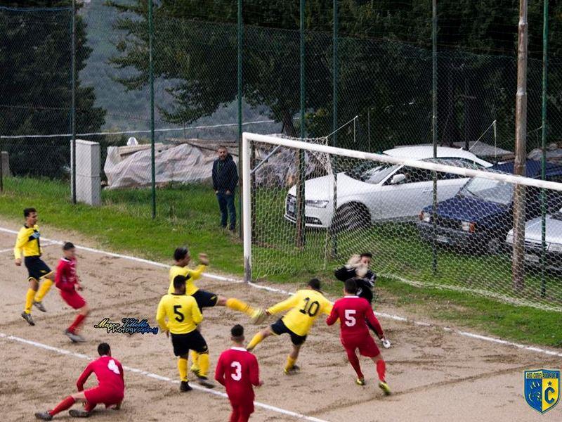 Intervista, Francesco vicino al goal