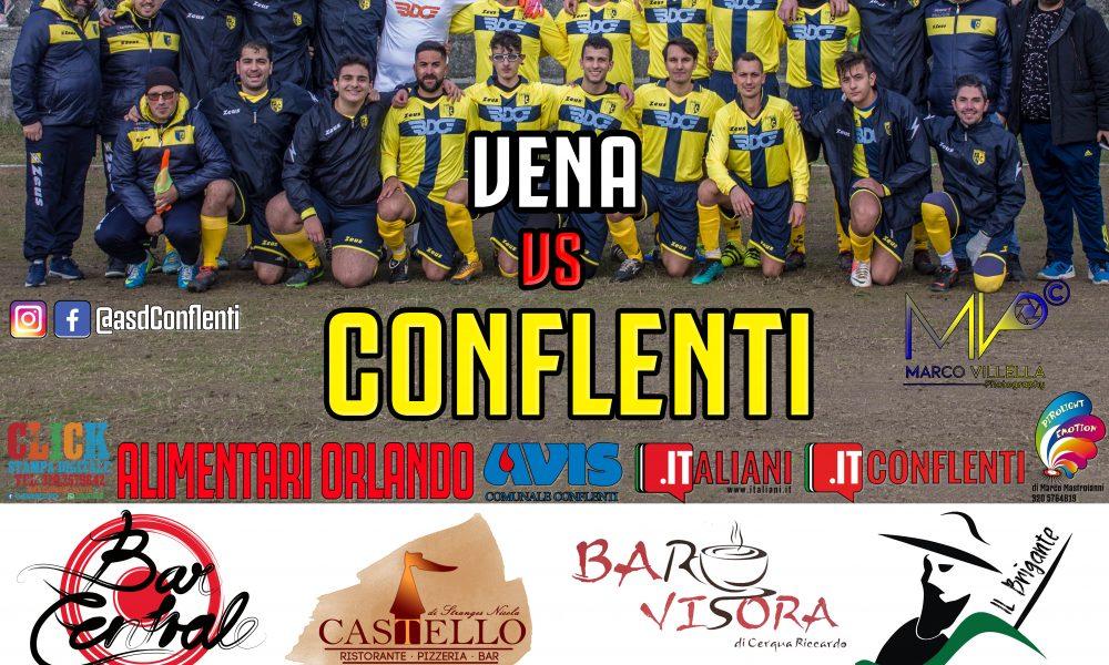 Vena vs Conflenti. partita