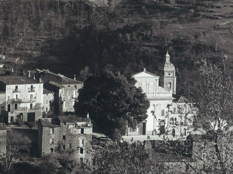 Visora. L'olmo, il santuario e il campanile