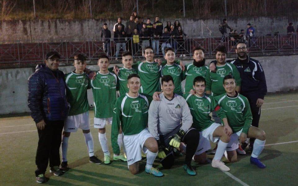 Incontro Calcio A5 Junior Conflenti Trekking