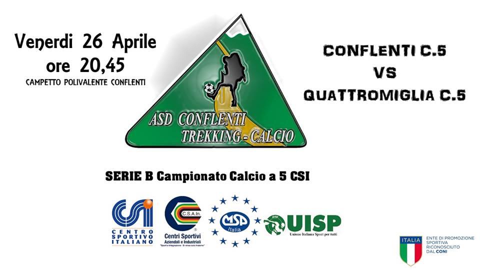 Incontro Di Calcio A 5 Csi Campionato Di Serie B