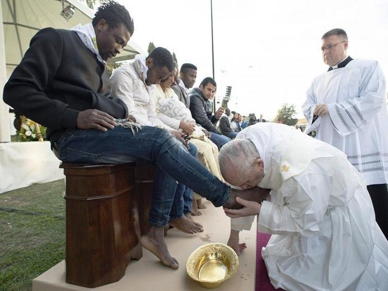Riti Religiosi. La lavanda dei piedi