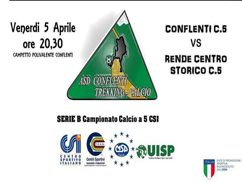 Conflenti C.5. partita 5 aprile
