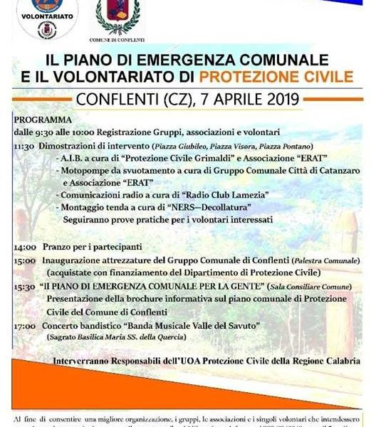 Protezione Civile. evento 7 aprile