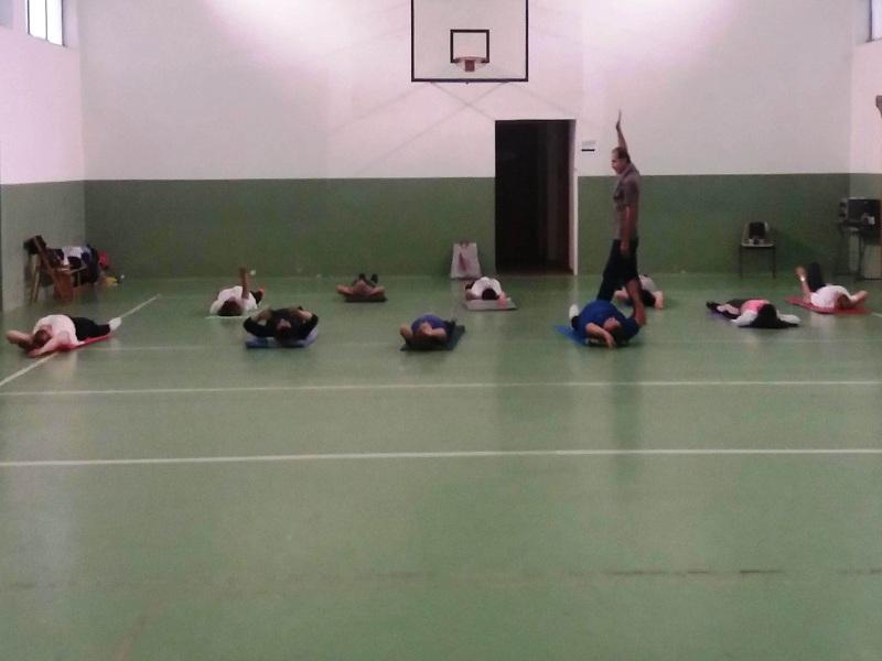 Fitness a lezione