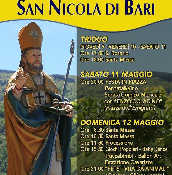 San Nicola Programma