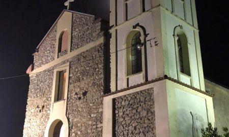 2 luglio: la chiesa vista di notte