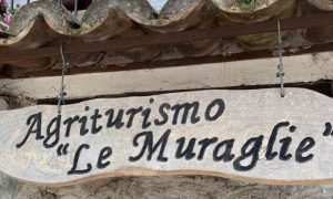Agriturismo Le Muraglie: insegna