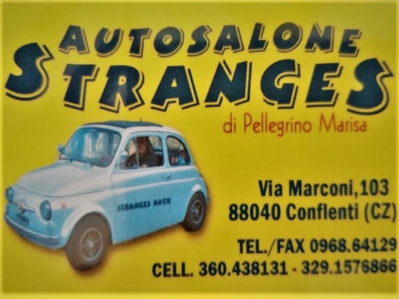 Autosalone stranges: bigliettino