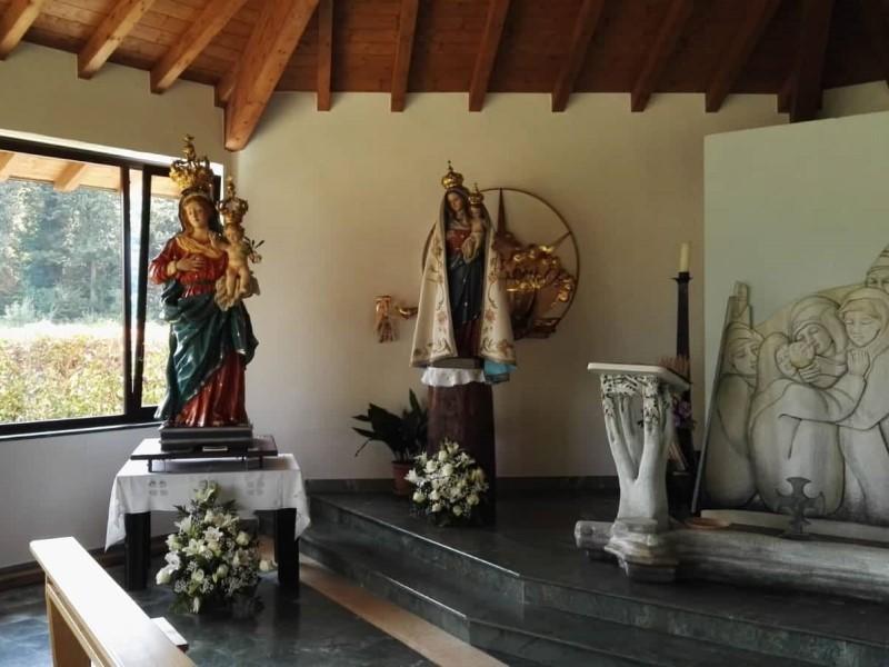 Borgo Ticino: le due statue della Madonna