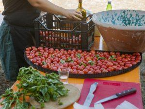 cucina felice: una teglia di Pomodori