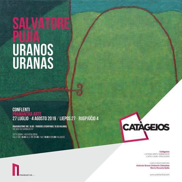 Uranos: locandina mostra espositiva