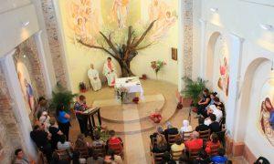 Buon 2 luglio: l'interno della chiesa dellaQuerciola