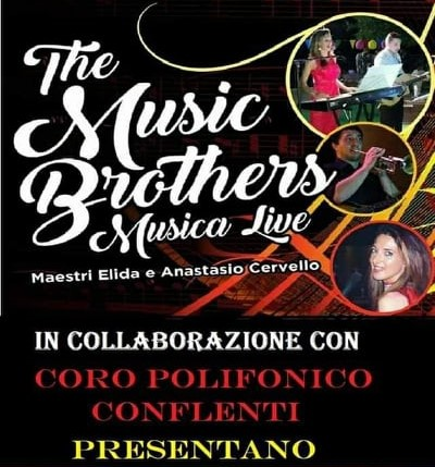 saggio di musica con i The Music Brothers