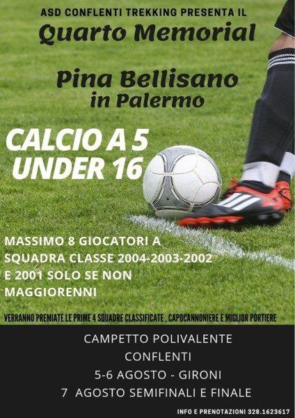 Quarto Memorial Pina Bellisano: Calcio A 5 Under 16