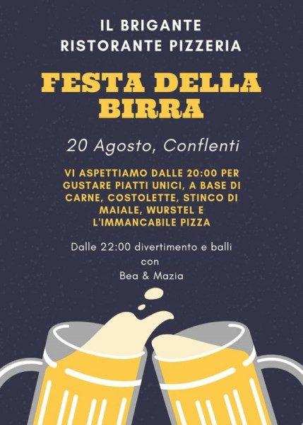 Festa Della Birra: locadina evento