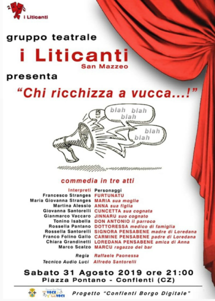 I Liticanti: gruppo teatrale locandina evento