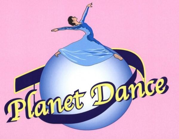 Planet Dance: logo scuola di danza