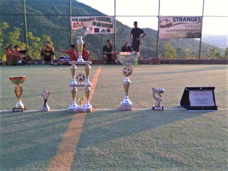 Trofei consegnati alla fine dei tornei