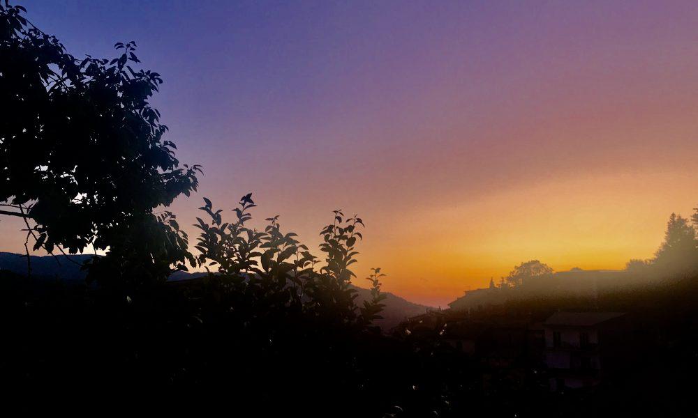 Conflenti e i suoi tramonti.emozione pura