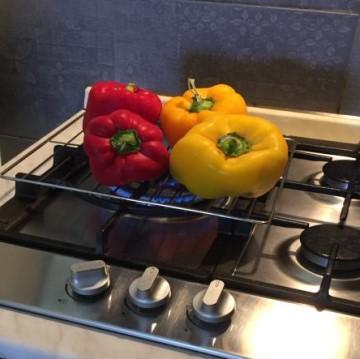 Peperoni gialli e rossi Su Gas
