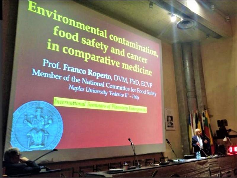 Franco Roperto: il prof conflentese invitato a un Seminario