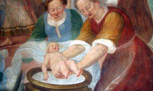 Il parto: La Mammana quadro