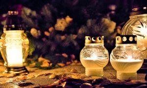 Ognissanti: candele accese