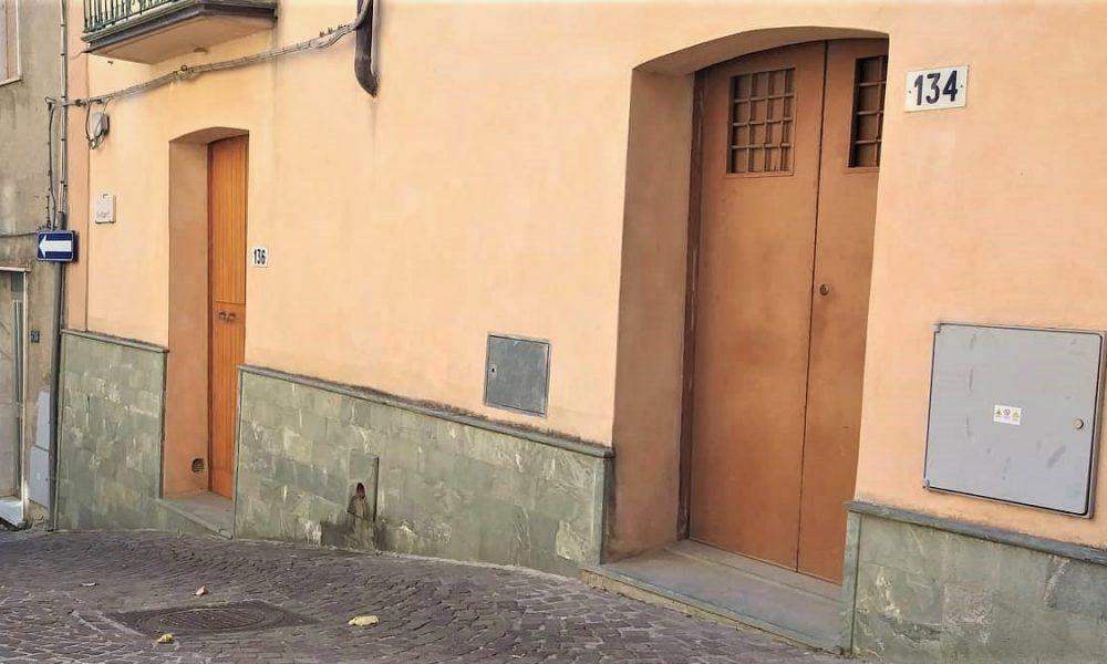 Ingresso Esattoria: le porte