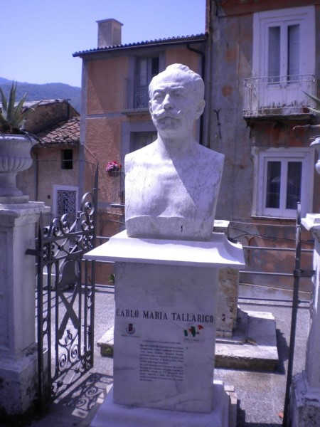 Statua di Carlo Maria Tallarigo dov'è oggi Oggi