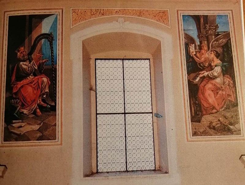 Re Davide E Santa Cecilia nella Basilica
