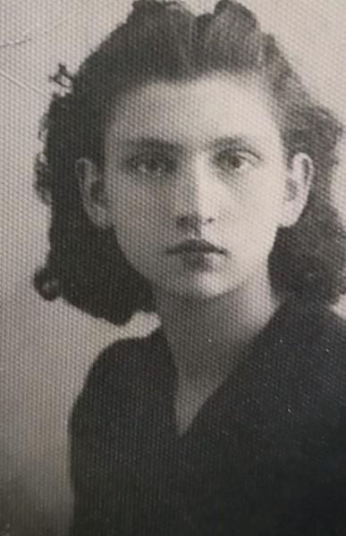 Concetta: una foto da giovane