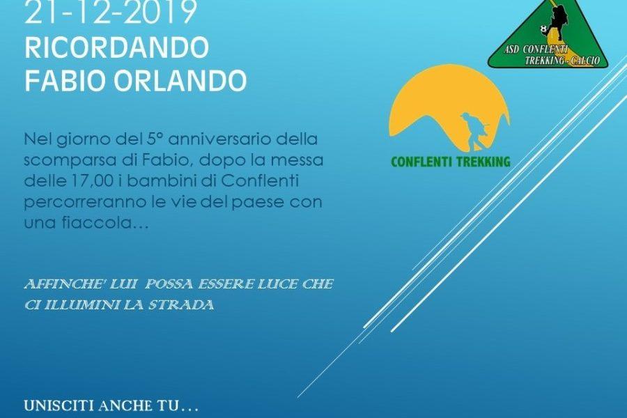 Ricordando Fabio Orlando