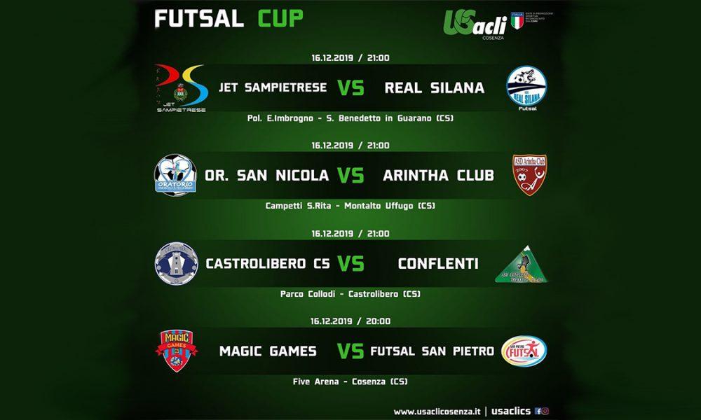 Futsal Cup: prima partita