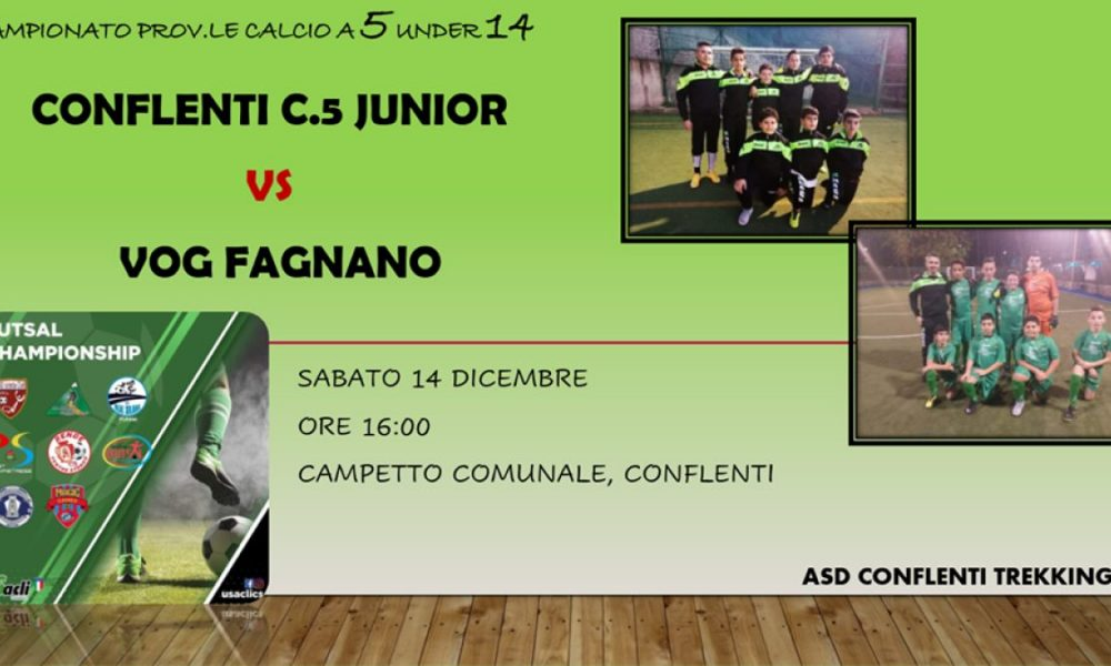 Junior vs vog fagnano