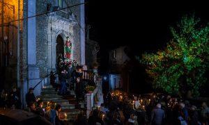 Santa Lucia in processione
