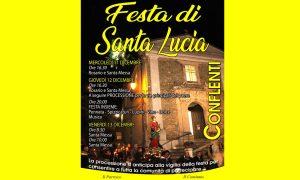 Santa Lucia: locandina
