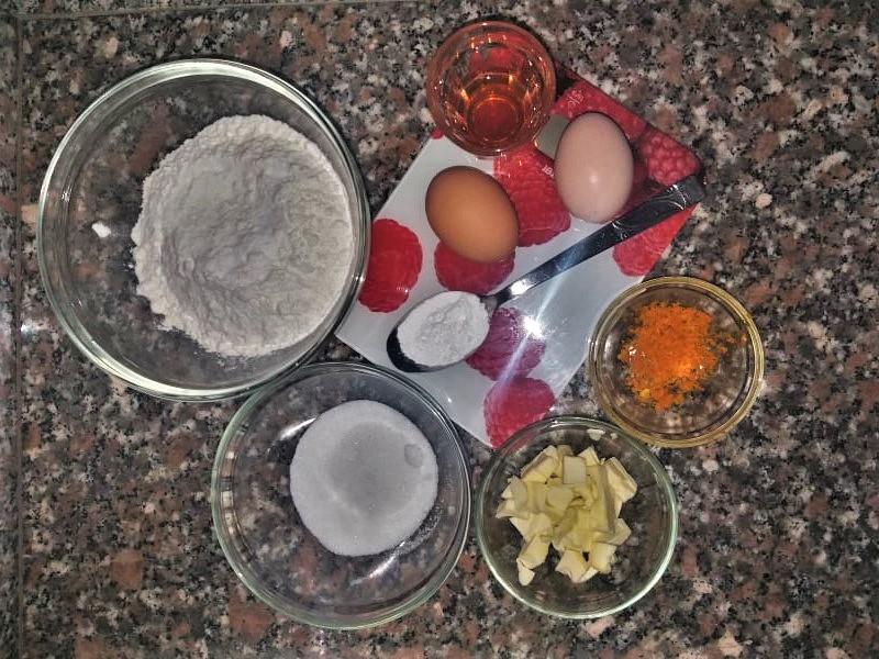 Ingredienti per le castagnole