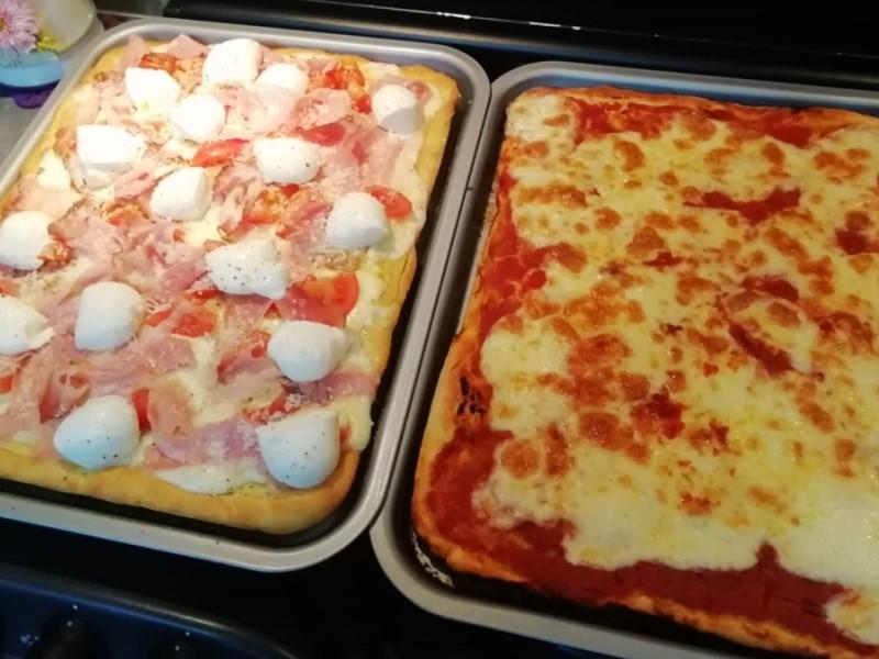 quarantena in cucina: Pizza