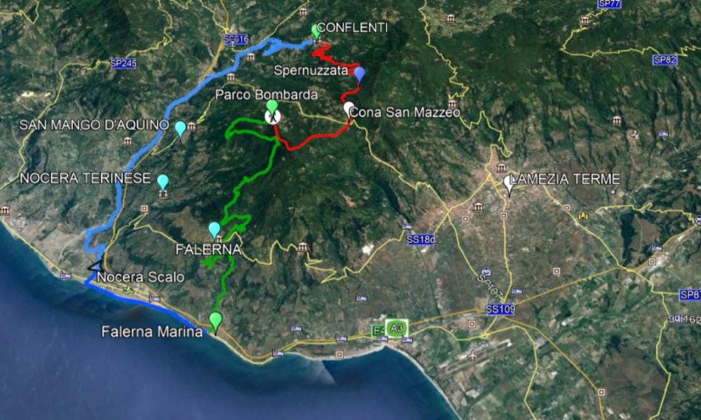 Turismo: itinerario l'anello del tirreno