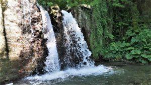 Jume: Cascata del fiume salso