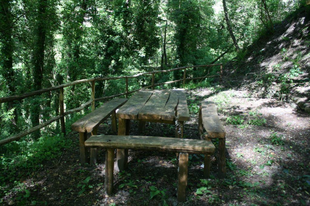 area picnic sulle sponde du jume