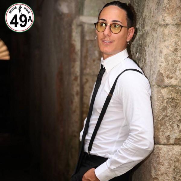 Gabriele Mastroianni in camicia