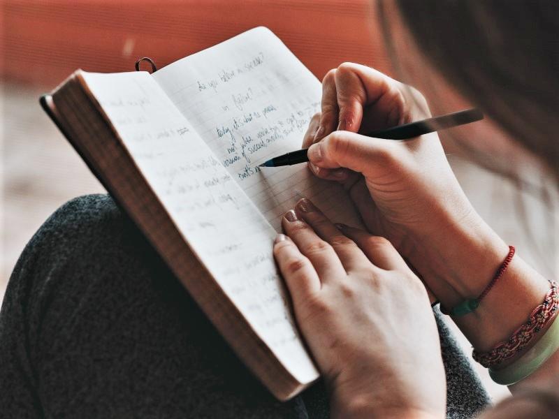 caro diario: Ragazza che Scrive
