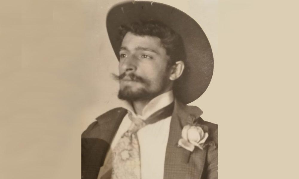 Umberto Stranges da giovane